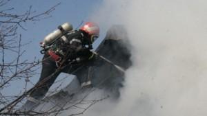 servant pompier