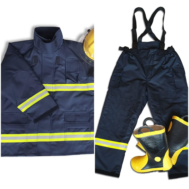Costum Pompieri tip NOMEX certificat EN469